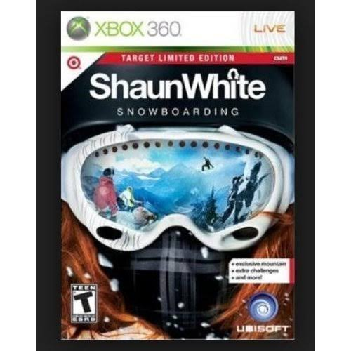 Shaun White Snowboarding, Target Limited Edition [Xbox 360 Game]