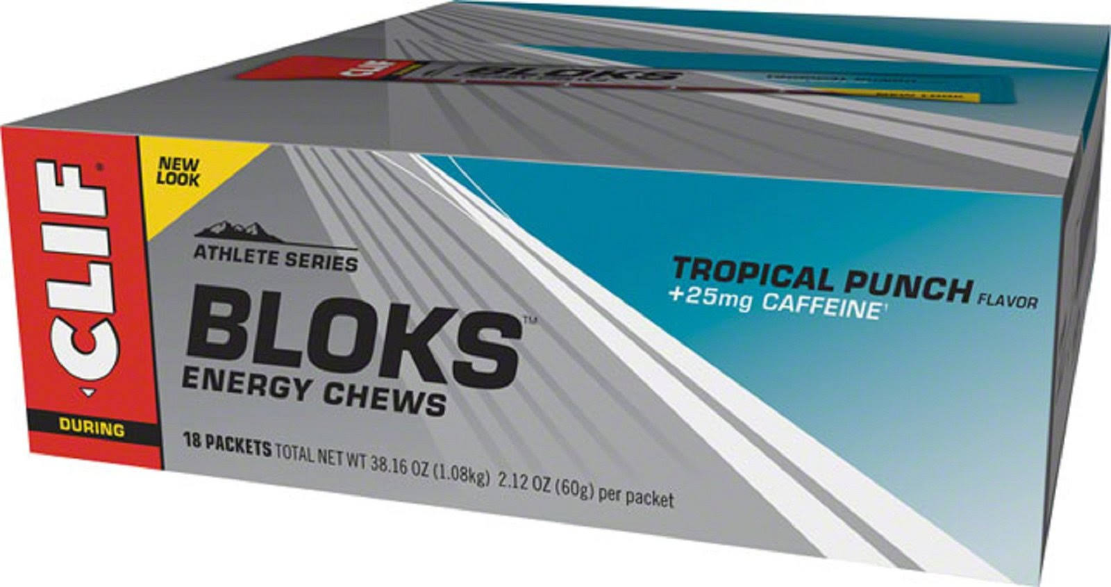 Clif Shot Bloks, Tropical x 18