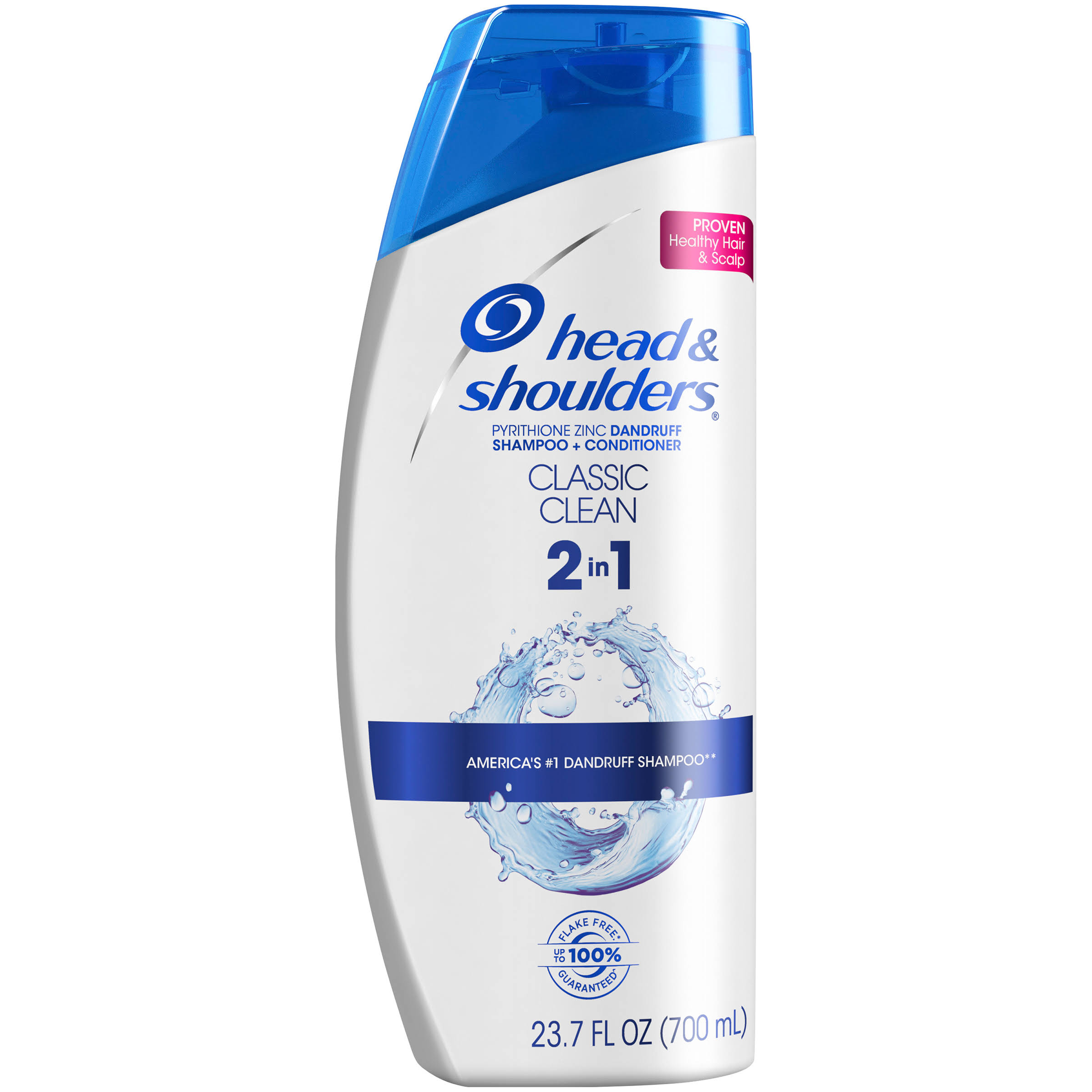 Head And Shoulders Classic Clean 2 In 1 Dandruff Shampoo Plus Conditioner - 23.7oz