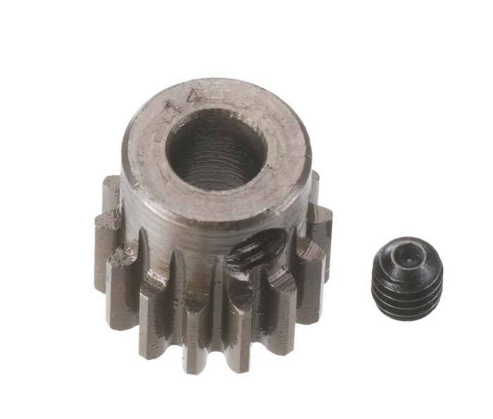 Robinson Racing Pinion Gear - Extra Hard, 5mm, 8 Mod, 14t