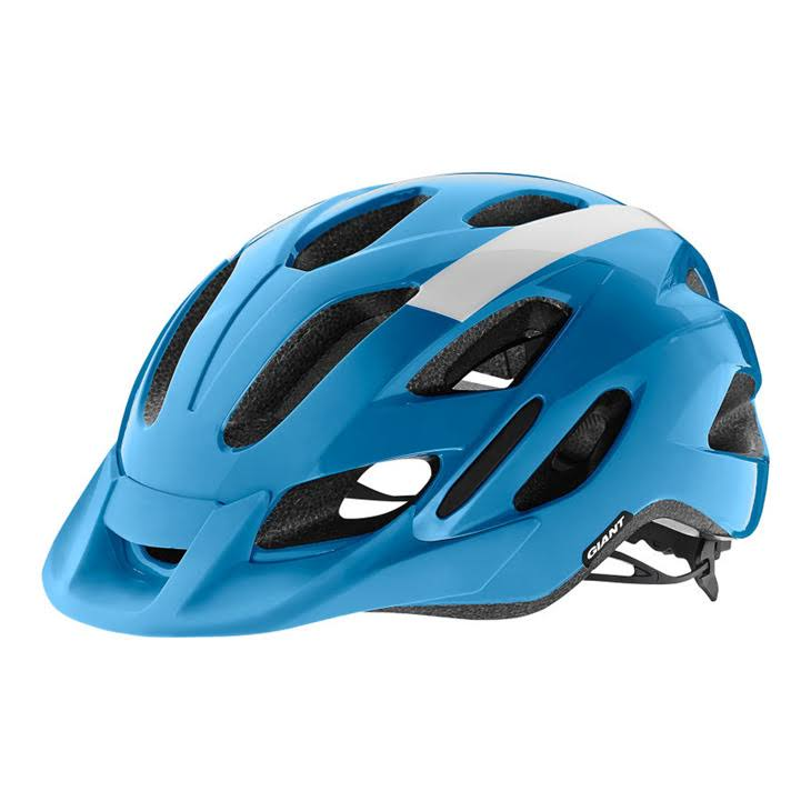 Giant Compel Helmet - Blue/White - Medium/Large
