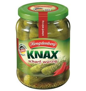 Hengstenberg Spicy Gherkin Pickles, 24.3 oz (688 g)