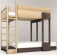 Wood Bunk Beds Plans by Modern Bunk Beds For Kids Popsugar Moms