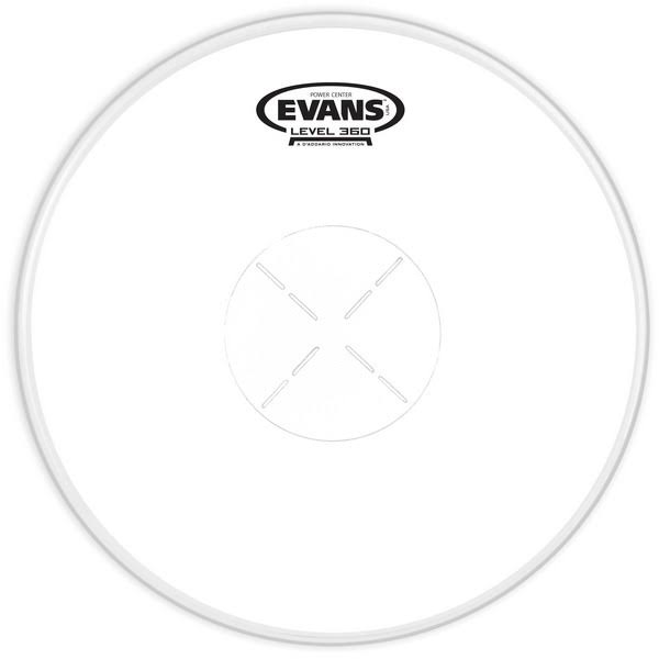 Evans B14G1D 14 Inch Genera G1 Power Center Drum Head