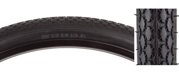 Bicycle Tire Sunlite 26x1-3/4 S7 Black/black Street K75