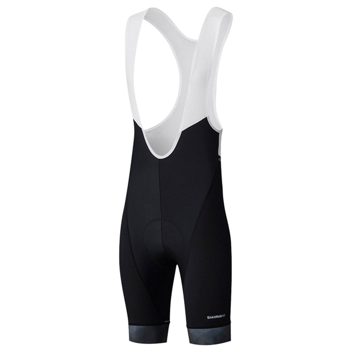 Shimano Men's Breakaway Bib Short - XL - Black