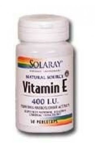Solaray Vitamin E 400 IU - 200 Softgels