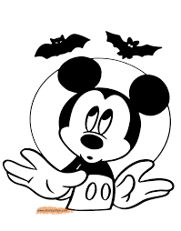 Disney Halloween Coloring Pages by 100 Halloween Bats To Color Fun Games 4 Learning October