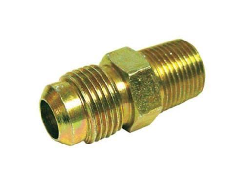 "Jmf 4505905 Flare Connector - Lead Free, Yellow Brass, 3/4""x3/4"""