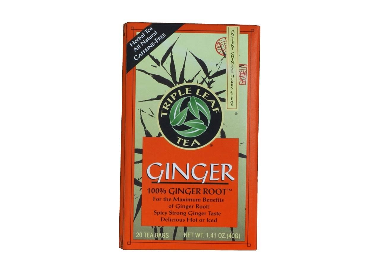 Triple Leaf Ginger Tea Bags