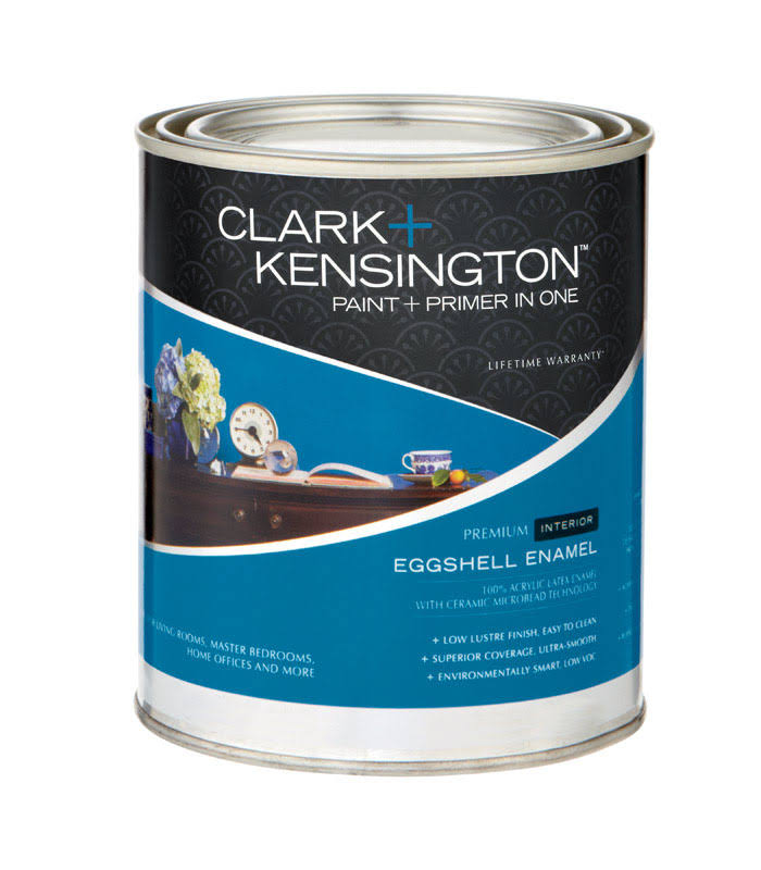 Clark + Kensington Interior Paint and Primer in One Latex Eggshell Enamel , HardwareOnlineStore