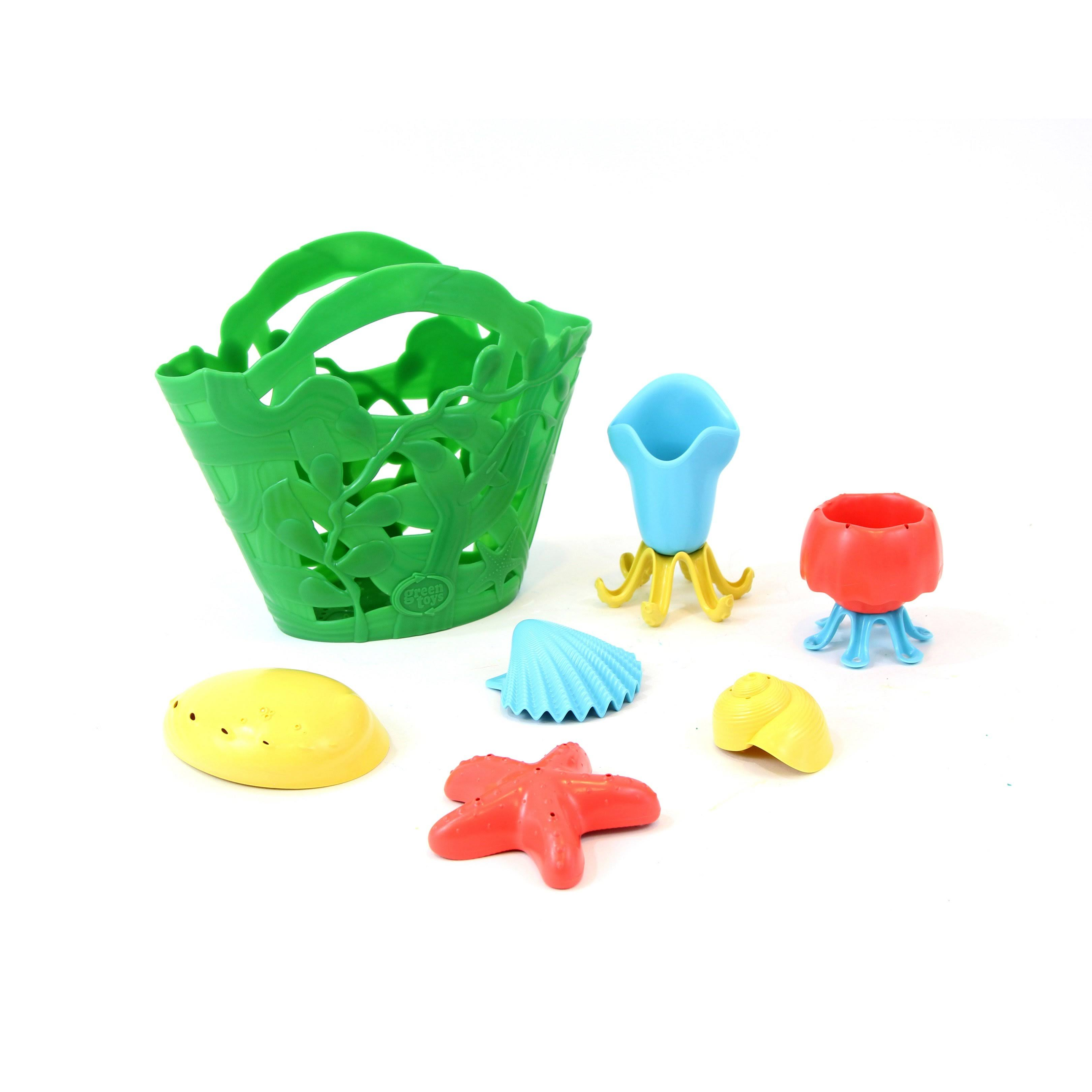Green Toys Tide Pool Bath Toy Set