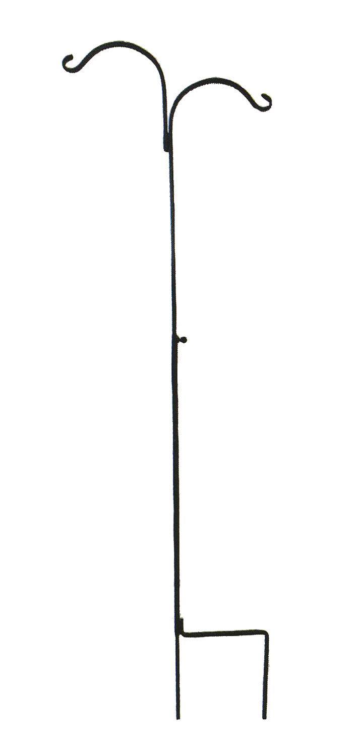 "Hookery Adjustable Crane - Black, 60"" to 90"""