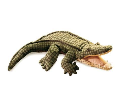 Folkmanis Plush Hand Puppet - Alligator, 60cm