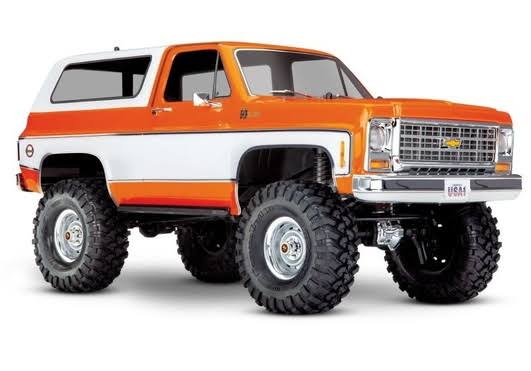 Traxxas TRX-4 1979 Chevrolet K5 Blazer Crawler - Orange