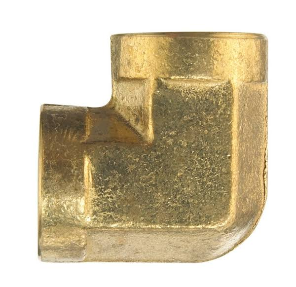 "Jmf 4338513 Elbow - Yellow Brass, 3/8"" Fpt x 3/8"" Fpt"