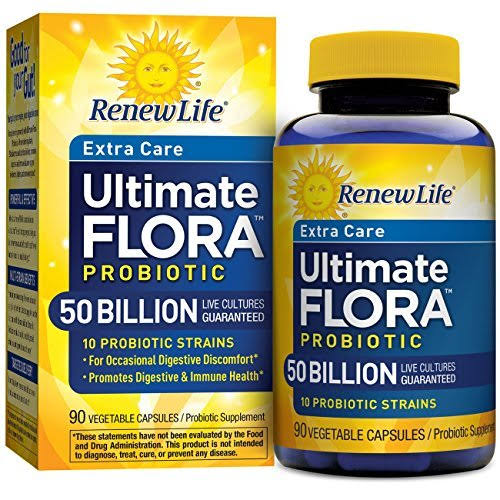 Renew Life Ultimate Flora Extra Care Probiotic Supplement - 90 Count