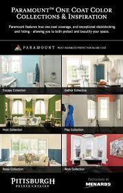 Menards Living Room Chairs by Paramount Paint By Pittsburgh Paints U0026 Stains At Menards Allows