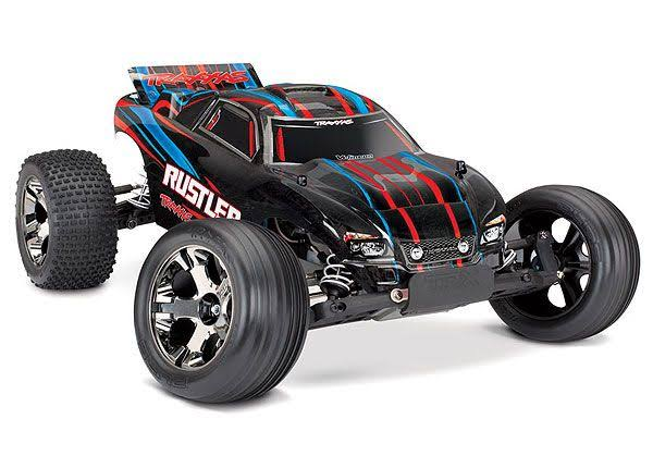 Traxxas Rustler Stadium Truck VXL Red Brushless