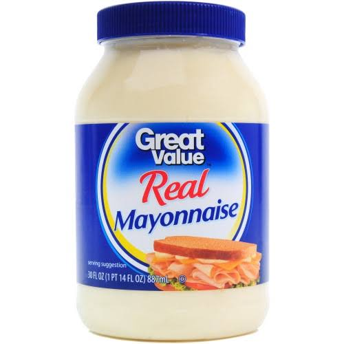 Great Value Real Mayonnaise - 30oz