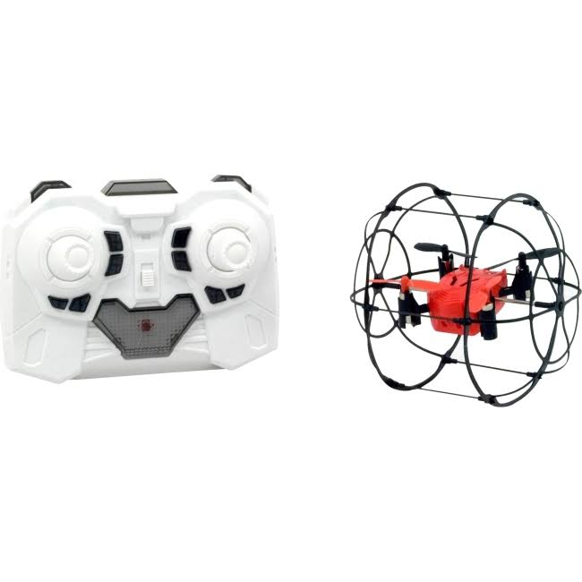 Odyssey Turbo Runner Dron Remote Control Toys - Red and Black
