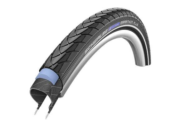 "Schwalbe Marathon Plus Performance Bike Tire - 28"", 1 1/2"