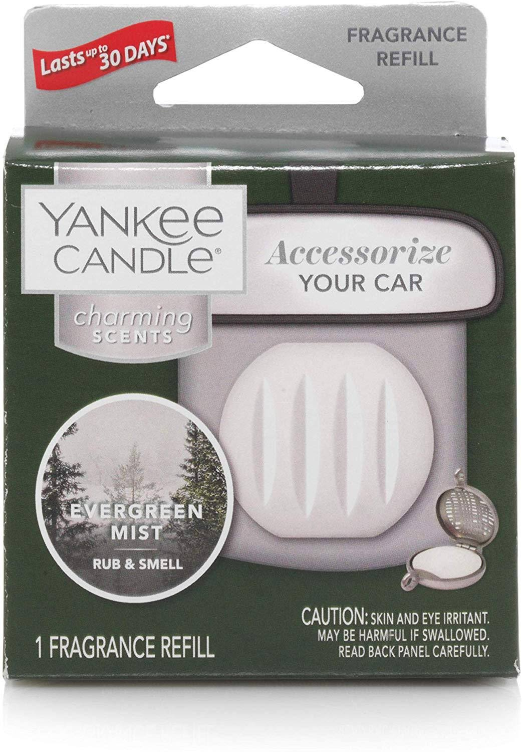 Evergreen Mist , Fresh & Clean Scent - Yankee Candle