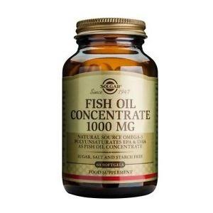 Solgar Fish Oil Concentrate 1000mg (60 Softgels)