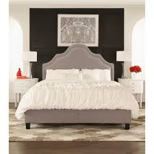 Wayfair White King Headboard by Homesullivan Beauvais Grey Full Upholstered Bed 40e377b012w 3a
