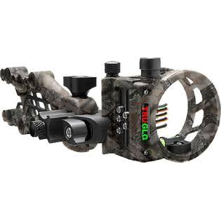 Truglo TG7515M Carbon Hybrid Micro 5 Pin Archery Sight - 0.019 Diameter Pins, Lost XD Camo