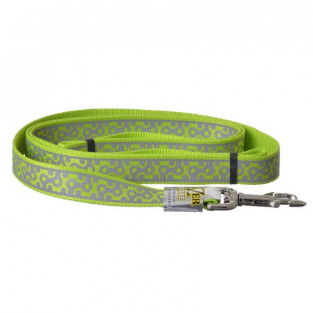 Coastal Pet Products Lazer Brite Reflective Leash - Lime