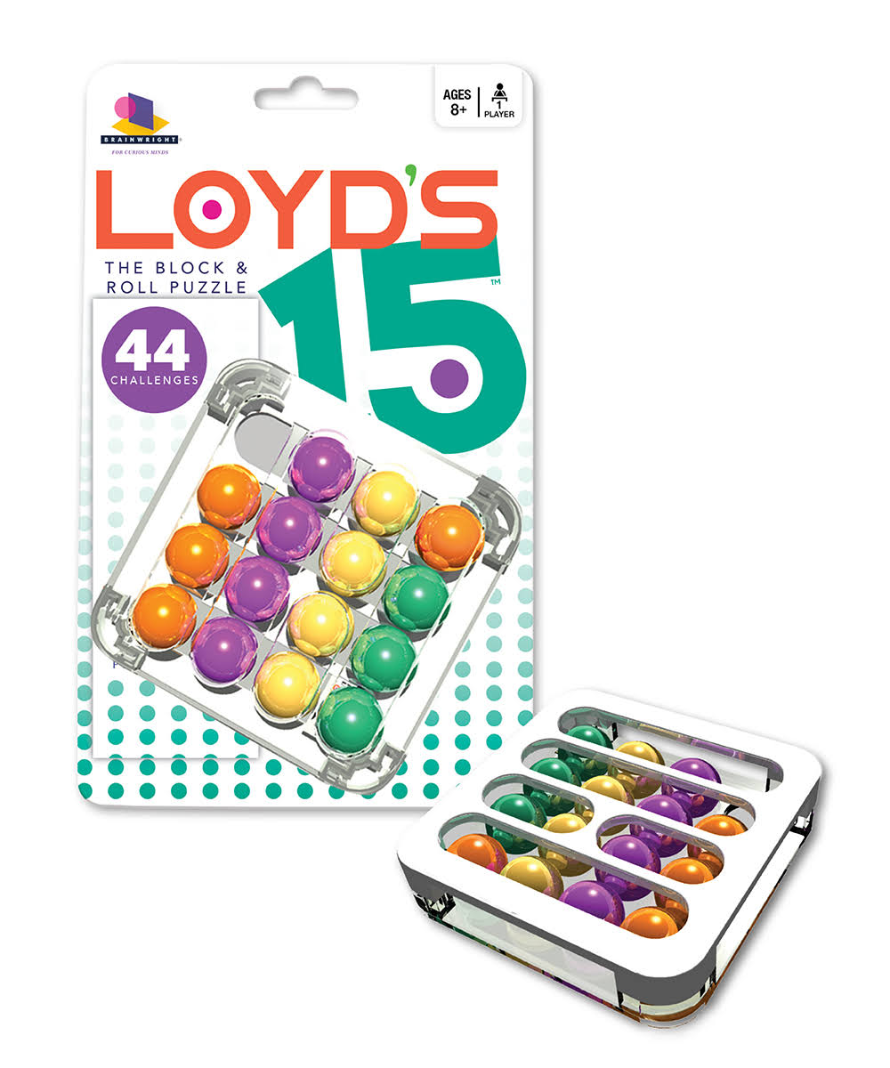 Brainwright Loyd's 15 Block & Roll Puzzle
