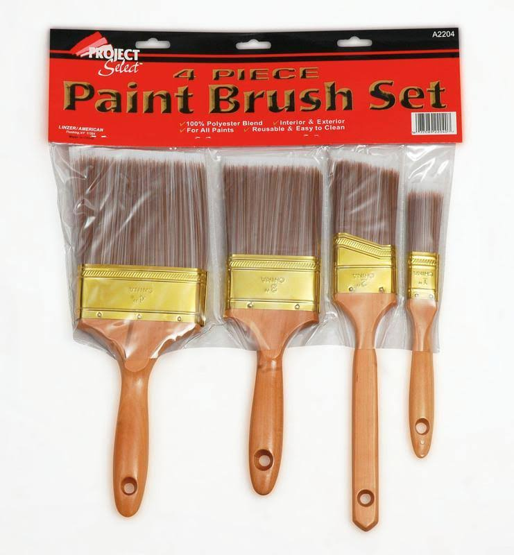 Linzer A2204 4 pc. Polyester Brush Set