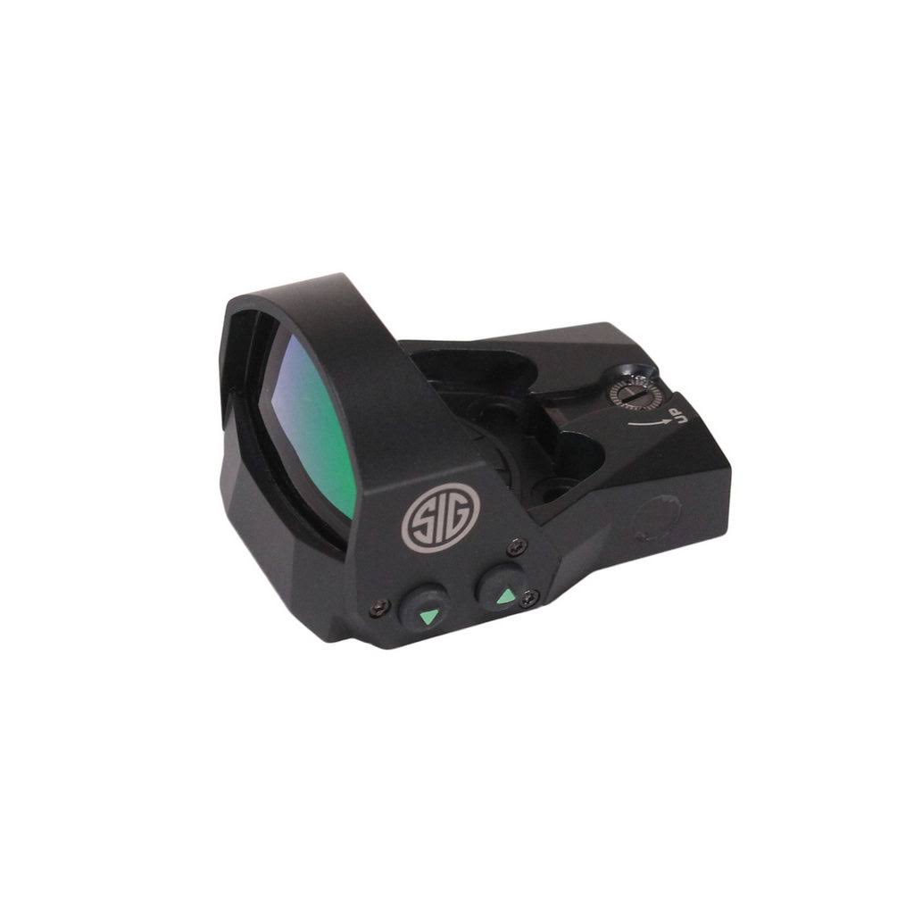 Sig Sauer Romeo1 Reflex Sight 1x30mm 6 Moa Red Dot 1.0 Moa Adjustable
