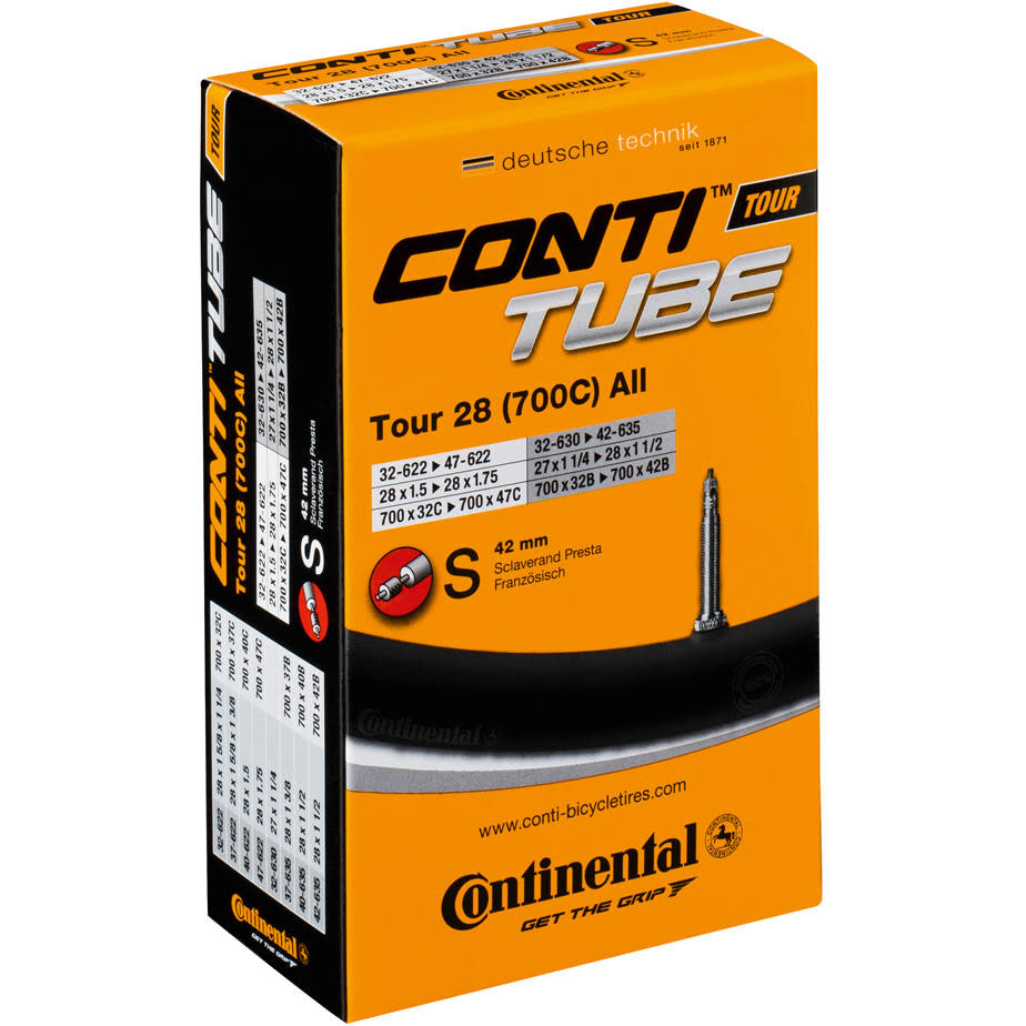 Continental Schrader Valve Tube - 700 x 28-47mm, 40mm