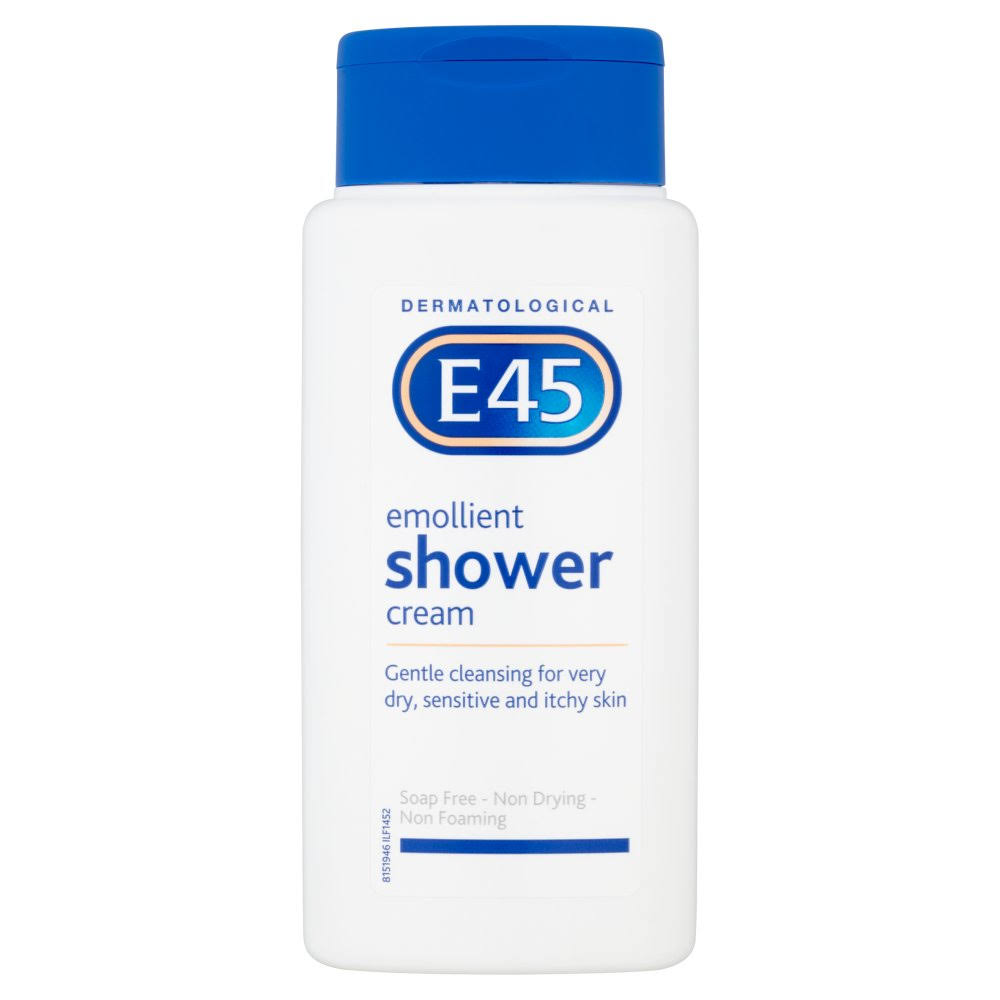 E45 Dermatological Emollient Shower Cream - 200ml