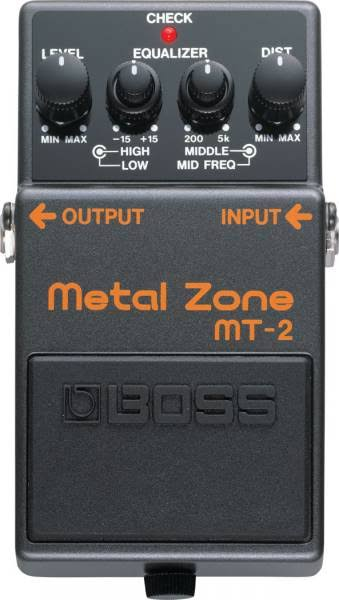 Boss MT2 Metal Zone Guitar Distortion Pedal
