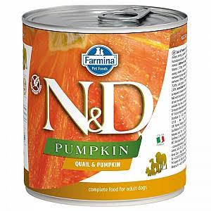N and D Adult Dog Food - Quail and Pumpkin, 285g
