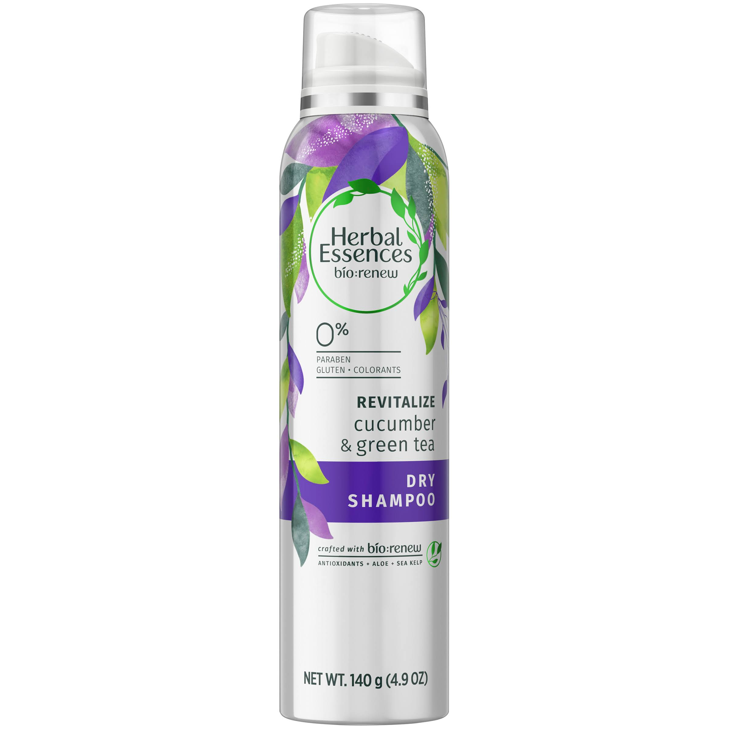 Herbal Essences Bio Renew Revitalize Dry Shampoo - Cucumber & Green Tea, 140g