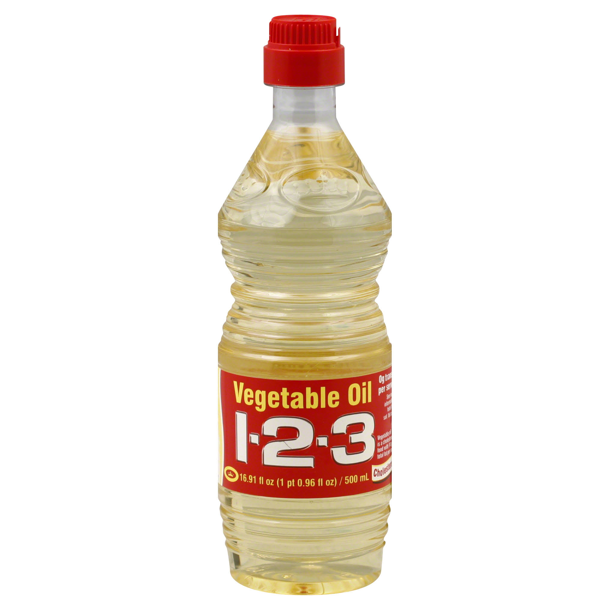 1-2-3 Vegetable Oil - 500ml
