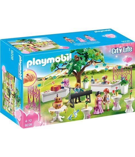Playmobil 9228 City Life Wedding Party Playset