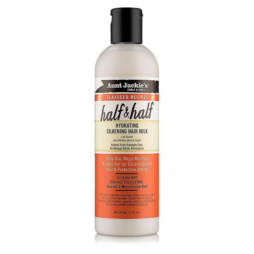 Aunt Jackie's Half and Half Hydrating Silkening Hair Milk - 12oz
