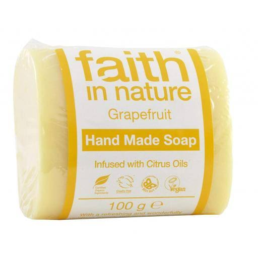 Faith in Nature Grapefruit Soap 100 G