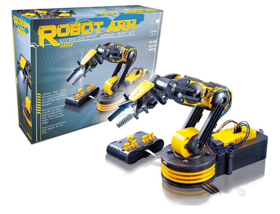 Cic Kits Wired Control Robot Arm Robotic Kit