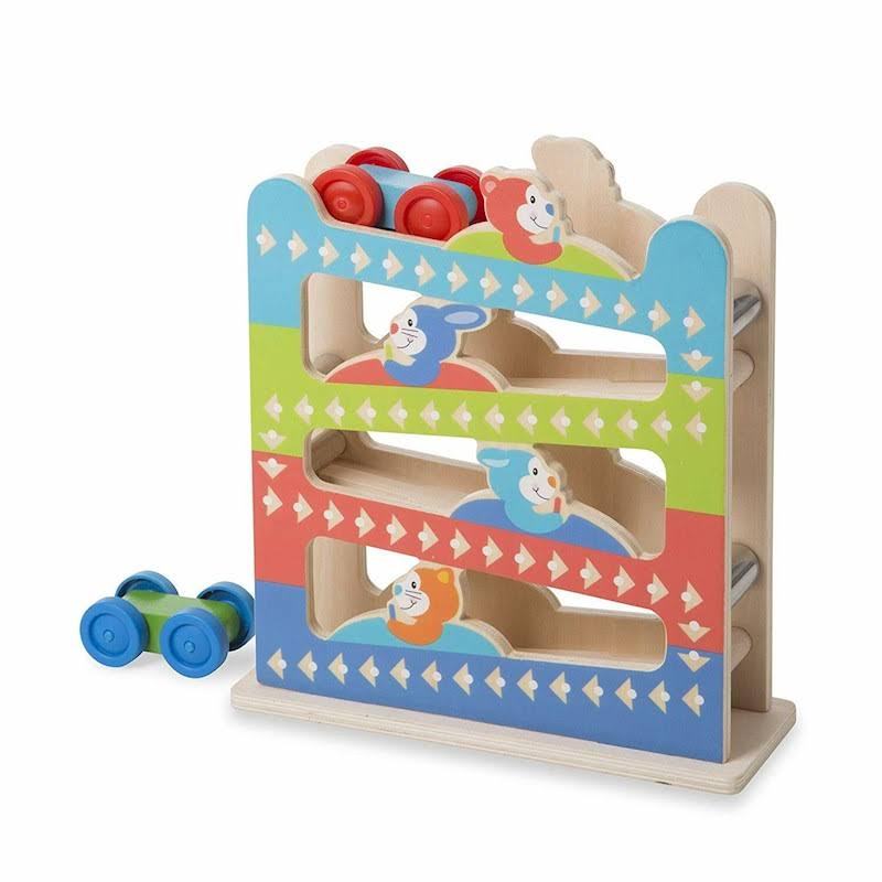 Melissa & Doug - First Play Roll & Ring Ramp Tower