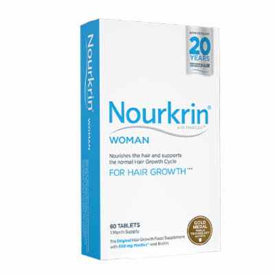 Nourkrin Woman Hair Growth Tablets - 60 Tablets