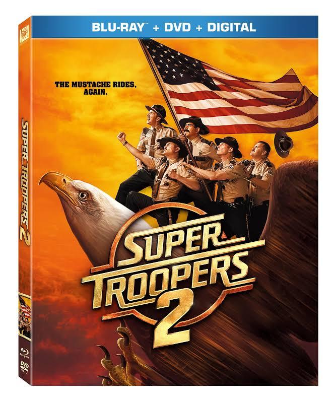 Super Troopers 2 - BLU-RAY