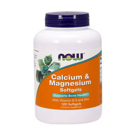 Now Foods Calcium & Magnesium - 120 Softgels