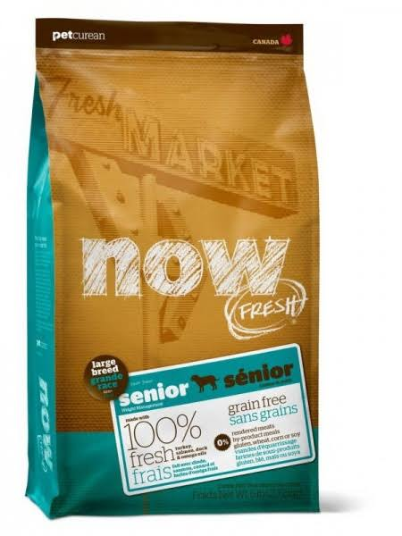 Now Fresh Large Breed Senior Dog Food - Duck, Salmon & Turkey