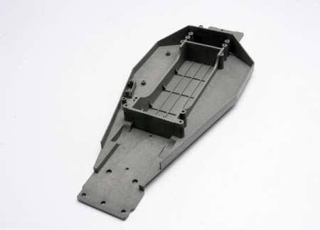 Traxxas Rustler Xl5 VXL Lower Chassis - Grey